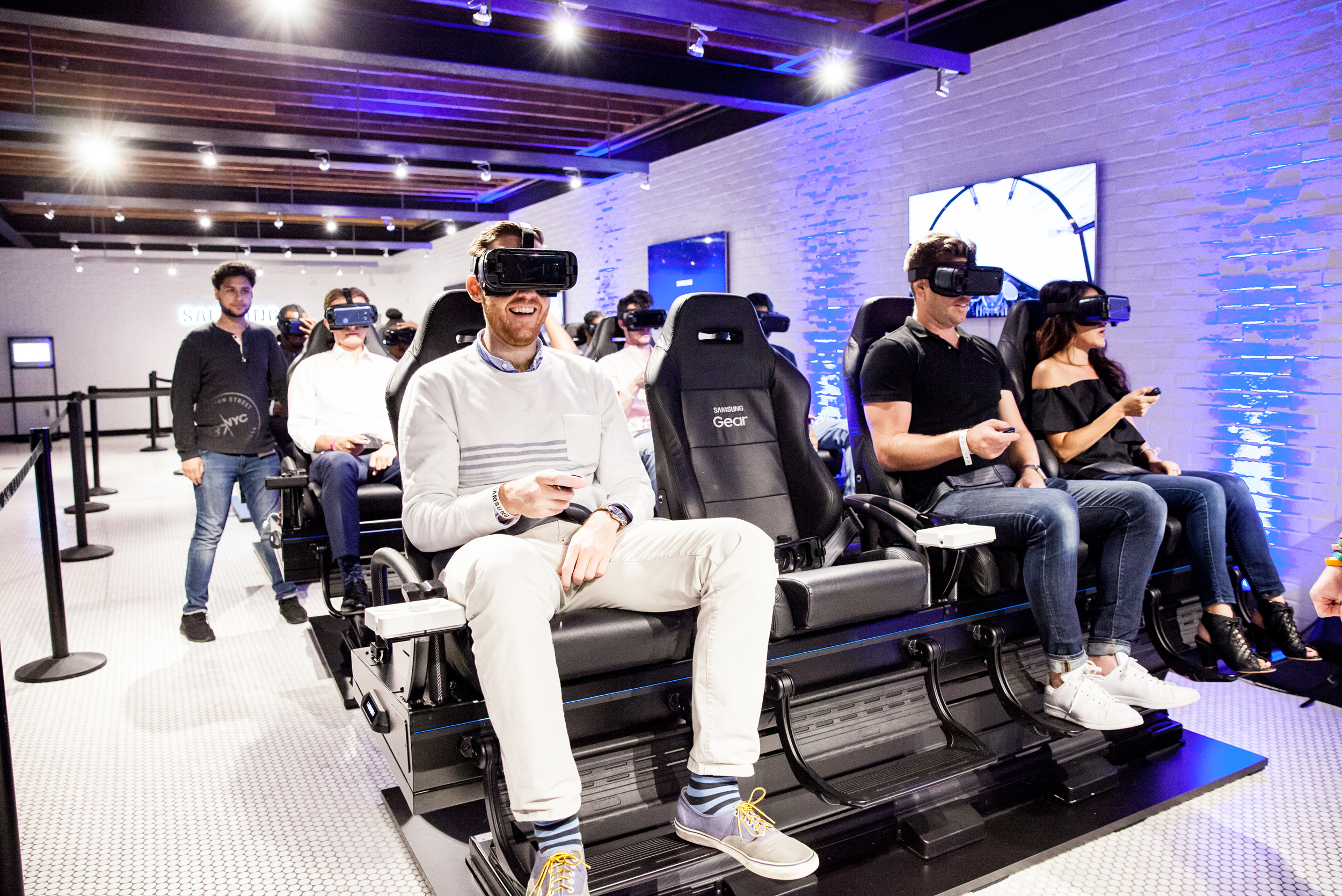 Virtual Reality Experiences at Samsung 837 in NYC
