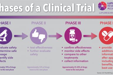 Explanation of the Four Phases of Clinical Trials