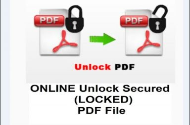 How To Change Secured PDF To Normal PDF Document