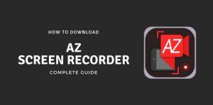 Download AZ Screen Recorder