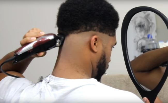Image result for Cutting Your Own Hair- men
